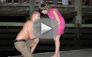 Boyfriend Loses Ring in Water Just as He Proposes