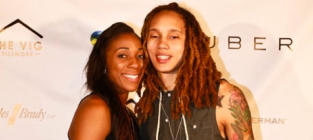 Glory Johnson: Engaged to Brittney Griner!