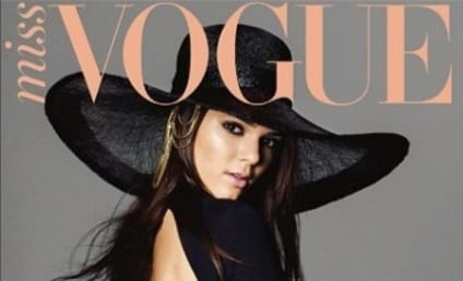 Kendall Jenner, Very Long Legs Cover Miss Vogue Australia