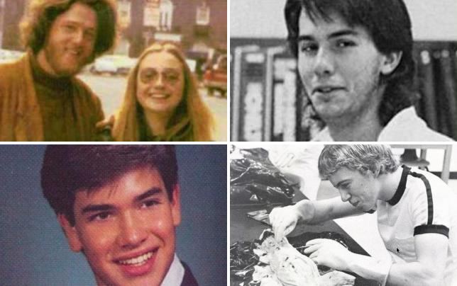 13 awkward photos of 2016 presidential candidates old school clintons