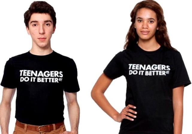 Teens Do It Better