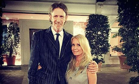 Monty Brinson with Kim Richards