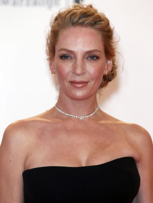Uma Thurman on Plastic Surgery Rumors: I Guess My Makeup Sucked! - The ...