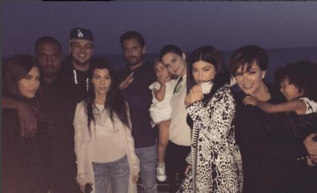 Rob Kardashian Family Birthday Bash at Nobu: PHOTOS