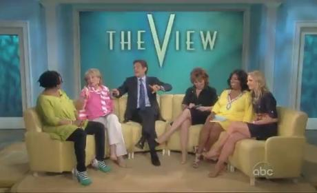 Whoopi Goldberg Farts on The View