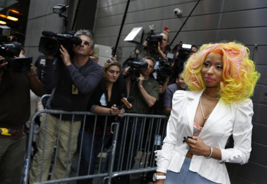Nicki Minaj Idol Pic