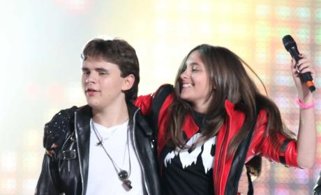 Paris and Prince Jackson Picture