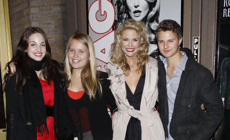 Christie Brinkley And Kids