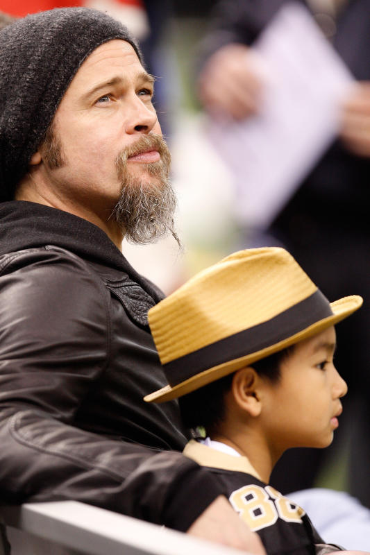 Brad pitt and son photo 2