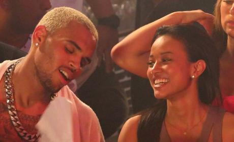 Rihanna and Chris Brown: Fighting Over Karrueche Tran!