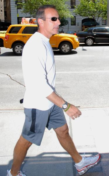 Matt Lauer Gym Shorts