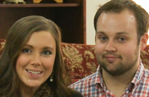 Anna and Josh Duggar Photograph