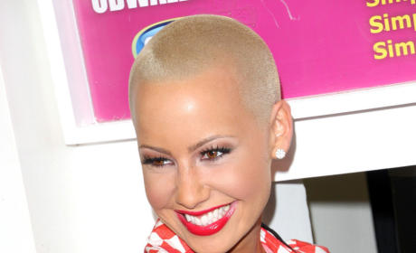 Amber Rose: SMH Over Naked Photo, Boyfriend-Stealing Allegations