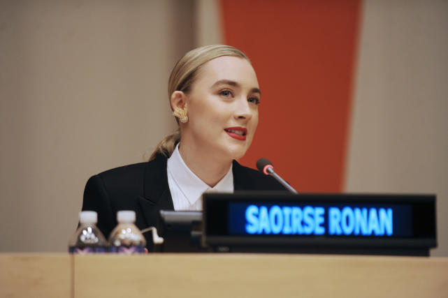 Saoirse Ronan: 'Brooklyn' UN Panel Discussion