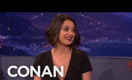 Mila Kunis Gushes Over Own Boobs: They're AMAZING!