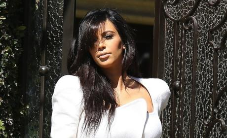 Kim Kardashian Fashion Face-Off: Black vs. White