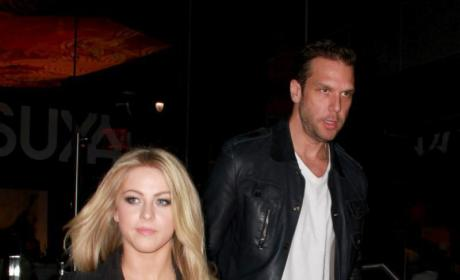 Dane Cook and Julianne Hough