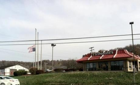 McDonald's Upside Down Flag Sparks Controversy