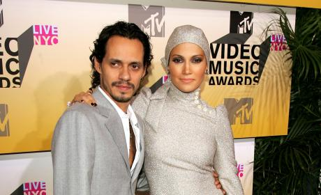 Marc Anthony Jennifer Lopez 2006 VMAs