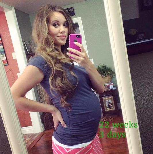 Jessa Duggar Baby Bump Photo: 22 Weeks!