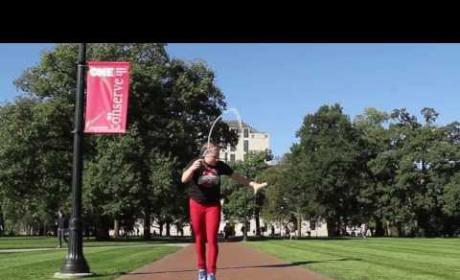 Ohio State Student Jumps Rope REALLY Well: Watch Now!
