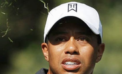 Tiger Woods Attacked By Hot Dog-Slinging Fan
