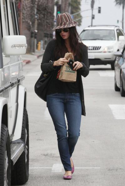 Megan Fox Clothed