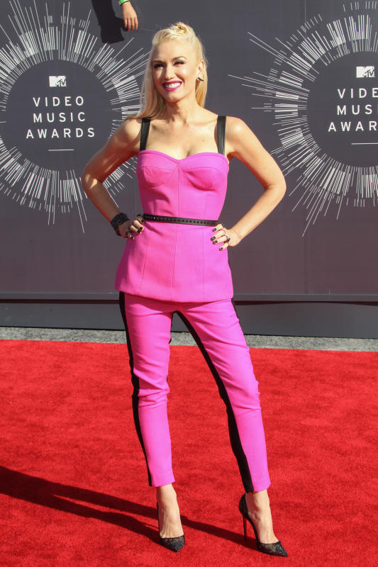 Gwen Stefani at the VMAs