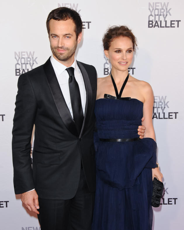 Benjamin Millepied and Natalie Portman Photo