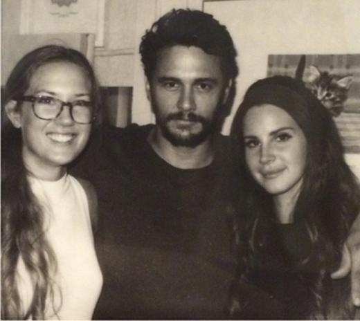 Lana Del rey and James Franco