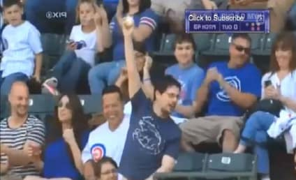 Cubs Fan Makes Miraculous, Dangerous Foul Ball Catch