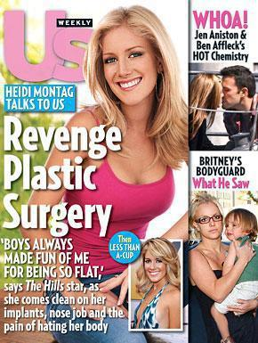 Heidi Montag: Us Weekly Cover