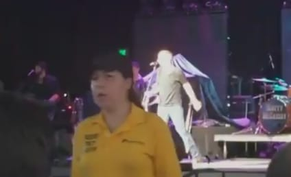 Scotty McCreery Falls Off Stage, Blames Brad Paisley for Mishap