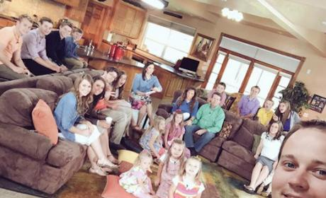 Josh Duggar and Family