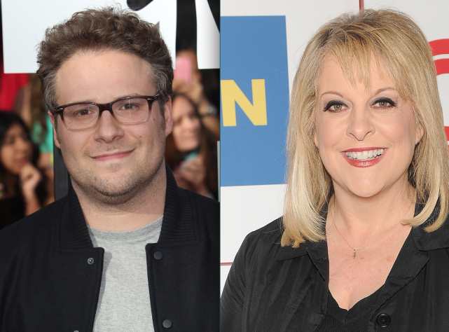 Seth rogen vs nancy grace