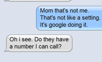 Mom Does Not Understand The Google, Wants Logo Changes to Cease Immediately
