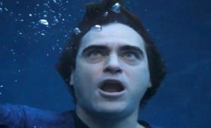 "Joaquin Phoenix ""Drowning"" PETA Ad: Banned From Oscars?"