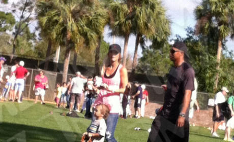 Tiger Woods and Elin Nordegren Pic
