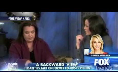 Elisabeth Hasselbeck Fires Back at Rosie O'Donnell, Joy Behar