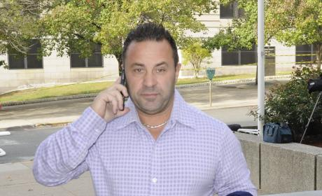 Joe Giudice: Dating a STRIPPER With Teresa Behind Bars?!