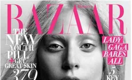 Lady Gaga: All-Natural in Harper's Bazaar!