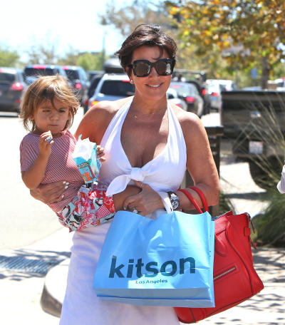Kris Jenner and Mason Dash