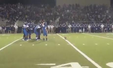 Texas High School Football Team Shocks Rival with AMAZING Final Play