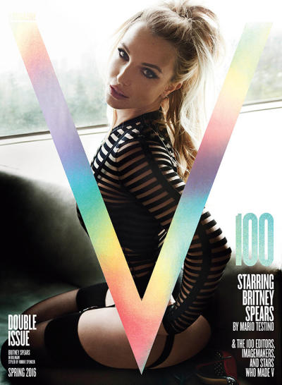 Britney Spears V Cover Pic