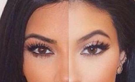 Kim Kardashian-Kylie Jenner Mashup
