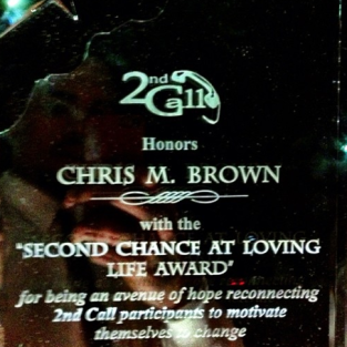 Chris Brown Award!