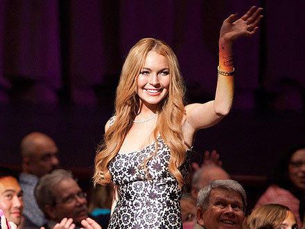 Lindsay Lohan on Glee