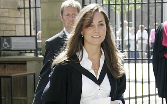 Kate Middleton in Private School