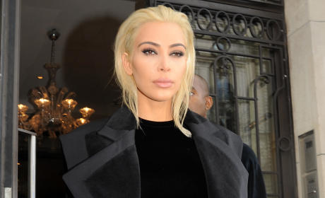 Kim Kardashian vs. Jared Leto: Who Looks Better as a Blonde?