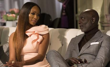 Cynthia Bailey and Peter Thomas Photo